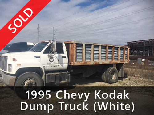 1995 Chevy Kodak Dump Truck (White) (Sold)